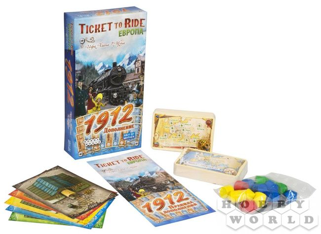Ticket to Ride. Европа: 1912 (Билет на поезд: Европа 1912) - фото2