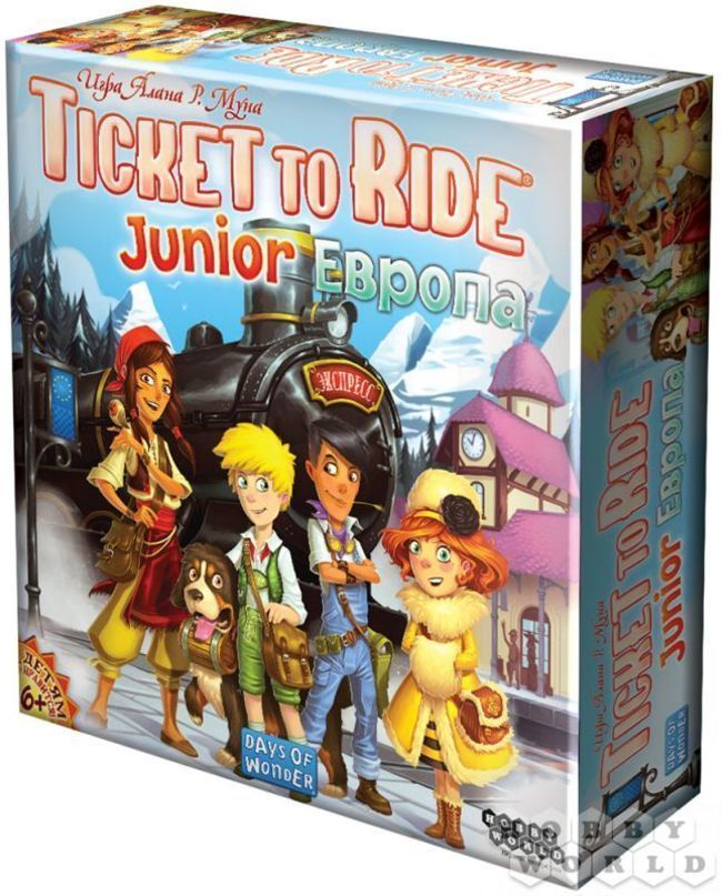 Ticket to Ride Junior: Европа (Билет на поезд детский: Европа) - фото