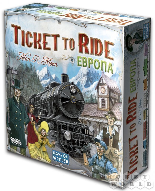 Ticket to Ride: Европа (Билет на поезд: Европа) - фото